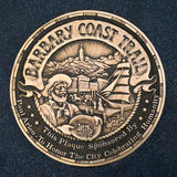 Sign of Barbary Coast Trail, San Francisco, California Royalty Free Stock Images