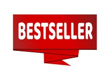 Sign bestseller. Vector on the background royalty free illustration