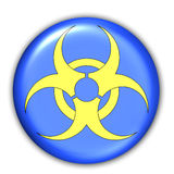 Sign - BioHazard. Computer Icon - BioHazard Royalty Free Stock Image