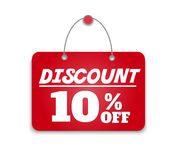 Sign board discount. This is file of EPS10 format Royalty Free Stock Images