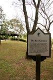Sign - Botanical Gardens, Singapore Stock Photography