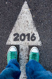 2016 sign Royalty Free Stock Photo