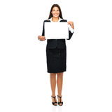 Sign business woman Royalty Free Stock Photography