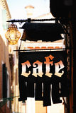 Sign cafe Royalty Free Stock Image