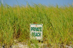 Sign  at cape cod Stock Image