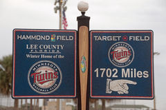 A Sign at Centurylink Sports Complex Stock Photos