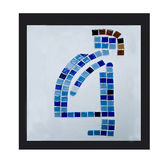 Sign ceramic of pregnant Stock Images