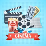Sign with cinema Royalty Free Stock Image