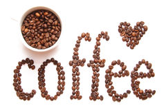 Sign of coffee Stock Photos