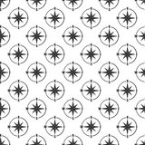 Sign of compass seamless pattern Stock Images