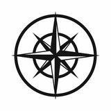Sign of compass to determine cardinal directions Stock Photography
