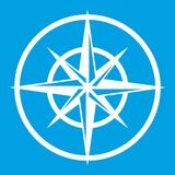 Sign of compass to determine cardinal directions Stock Images