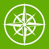 Sign of compass to determine cardinal directions Royalty Free Stock Images