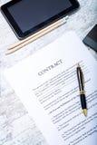Sign a Contract Royalty Free Stock Photos