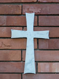 The sign of the cross. Always present is a cross on a grave Royalty Free Stock Image