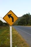 Sign curve Stock Photos