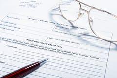 Sign del contratto Immagine Stock Libera da Diritti