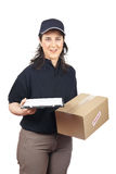 Sign for delivery Stock Photography