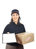 Sign for delivery Royalty Free Stock Image