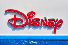 Sign Disney store Stock Image