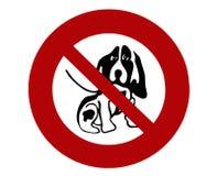 Sign dog 03 Royalty Free Stock Photo