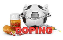 Sign of doping Stock Image