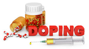 Sign of doping Stock Images