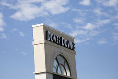 Sign for Dover Downs, Delaware Royalty Free Stock Photos
