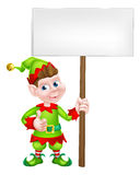 Sign Elf Royalty Free Stock Photography