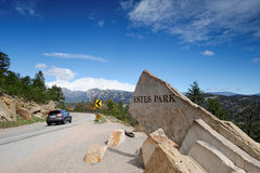 Sign of Estes Park Royalty Free Stock Image