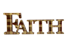 Sign of Faith Stock Images