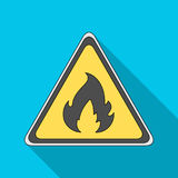 Sign of flammability.Oil single icon in flat style vector symbol stock illustration web. Sign of flammability.Oil single icon in flat style vector symbol stock Royalty Free Stock Photo