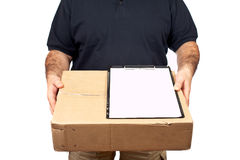 Sign For Delivery Stock Photos