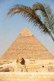 Sign Giza Pyramid Khufu Cheops Base Stock Photos