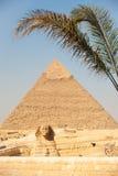 Sign Giza Pyramid Khufu Cheops Base. A faded No Climbing sign at the base warns people against climbing to the top of the Pyramid of Cheops (Khufu) in Giza Stock Photos