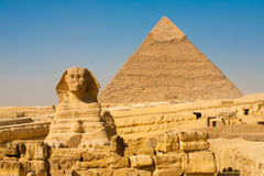 Sign Giza Pyramid Khufu Cheops Base Stock Images