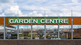 Sign for graden centre Stock Images