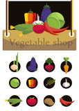 Sign greengrocery Stock Images