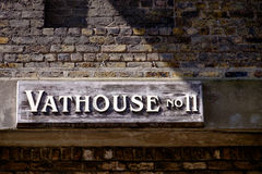 Sign at Guinness Brewery Dublin Royalty Free Stock Images