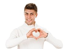 Sign heart Stock Image