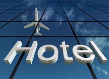 Sign hotel Stock Images