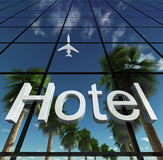 Sign hotel Stock Photos