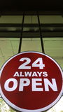 Sign 24 Stock Photos