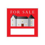 Sign house sale. Stock Photo