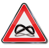 Sign of infinity Royalty Free Stock Photo