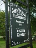 Sign at the Jack Daniels distillery. LYNCHBURG-TENN-USA-Jack Daniel's is a brand of Tennessee whiskey and the top-selling American whiskey in the world. It is stock photo