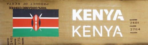 Sign of Kenya in Expo 2015, Milan Royalty Free Stock Images