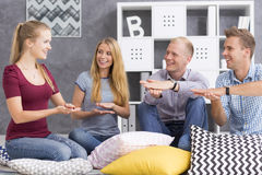 Sign language for beginners Stock Images