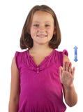 Sign language dog Royalty Free Stock Image