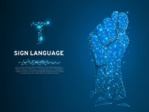 Free Sign Language S Letter, Figa Shish Kukish Finger Gesture. Polygonal Low Poly. People Silent Communication. Vector Stock Photos - 134367883